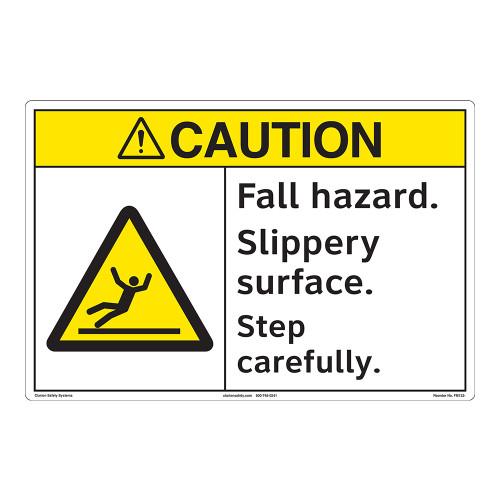 Caution/Fall Hazard Floor Marker (FM132-)
