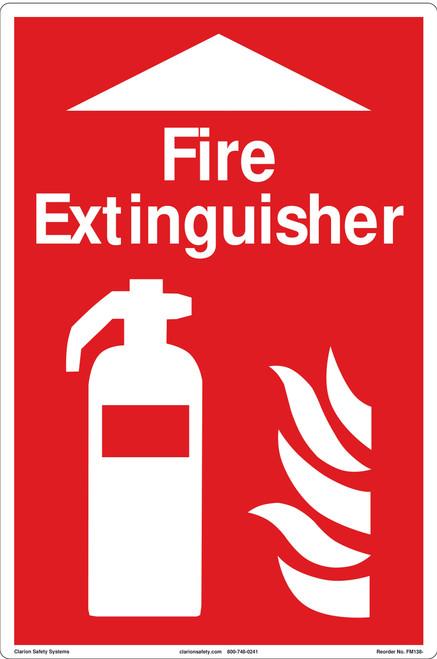 Fire Extinguisher Floor Marker (FM138-)
