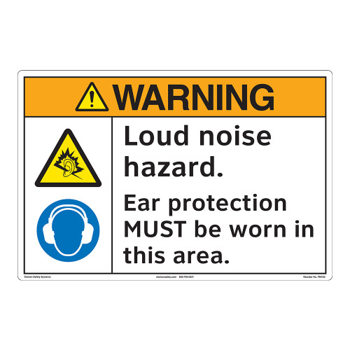 Warning/Loud Noise Floor Marker (FM162-)