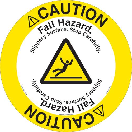 Caution/Fall Hazard Floor Marker (FM133-)
