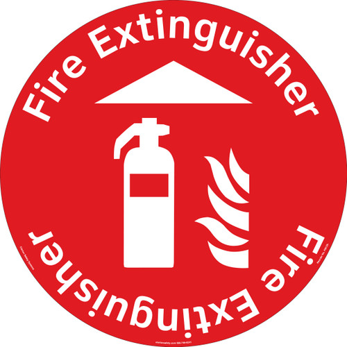 Fire Extinguisher Floor Marker (FM139-)