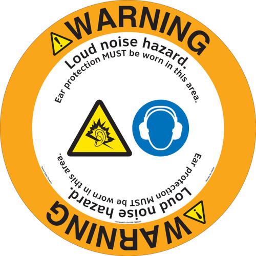 Warning/Loud Noise Floor Marker (FM163-)