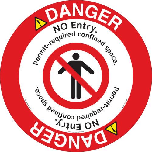 Danger/No Entry Floor Marker (FM167-)