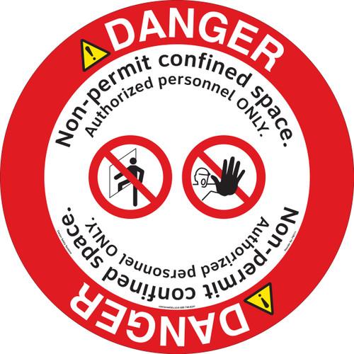 Danger/Non-Permit Floor Marker (FM171-)