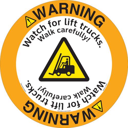 Warning/Watch for Lift Trucks (FM199-)