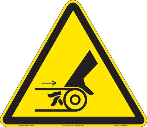 Hand Entanglement/Belt Drive (FIS1010-)