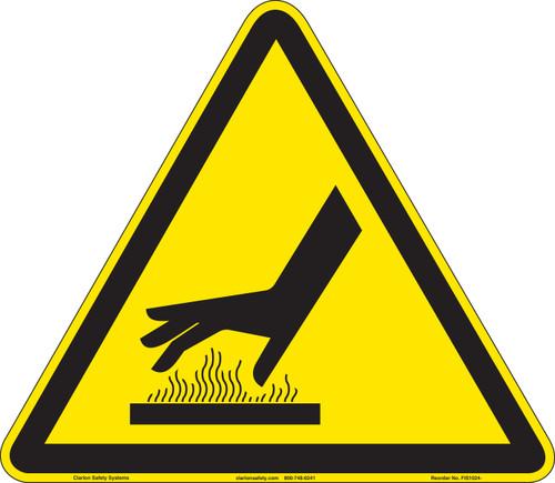 Burn Hazard/Hot Surface (FIS1024-)