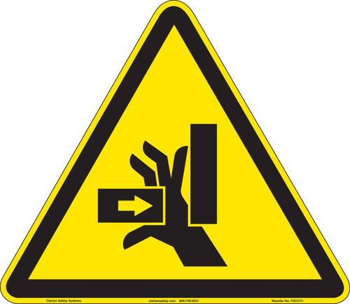 Crush Hazard (FIS1277-)