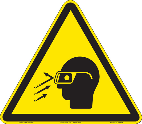 Flying Debris/Wear Safety Glasses (FIS3021-)