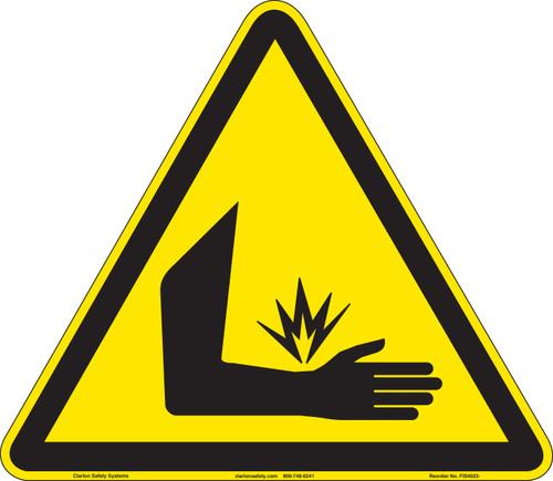 Crush and Pinch Hazard (FIS4023-)