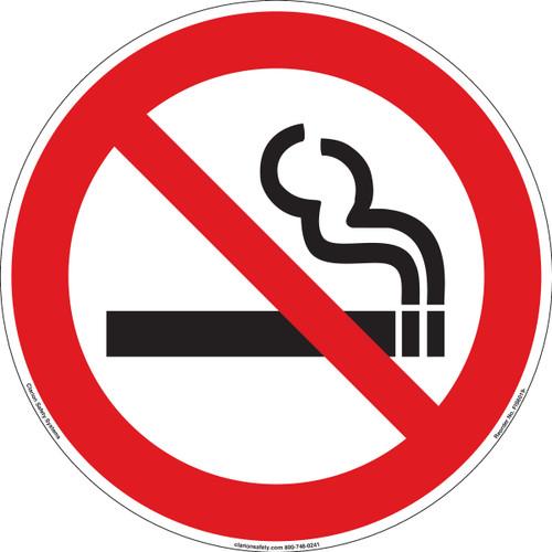 No smoking (FIS6019-)