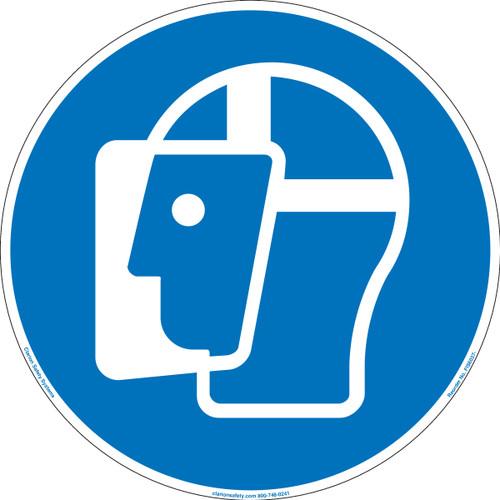 Wear Face Shield (FIS6037-)