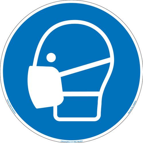 Wear dust mask (FIS6049-)