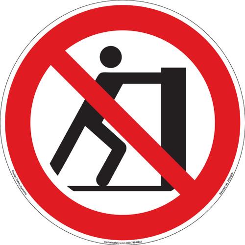 Do not push (FIS6066-)