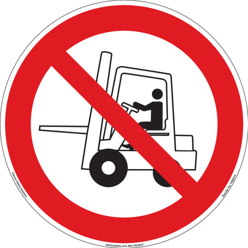 Do Not Use Forklift (FIS6074-)