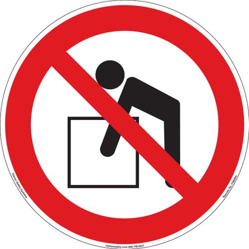 Do Not Lift (FIS6084-)