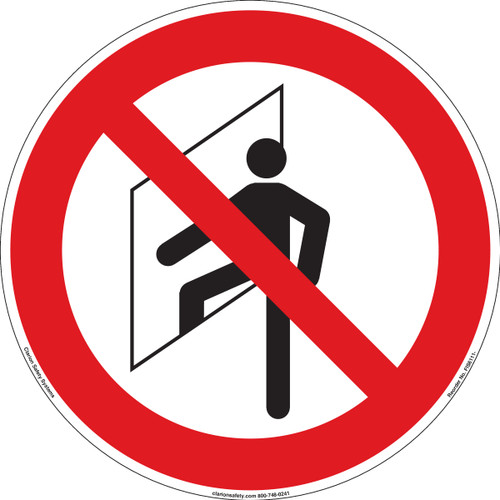 Do Not Enter/Confined Space (FIS6111-)