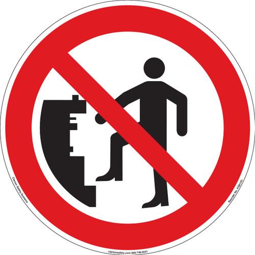 Do Not Climb (FIS6145-)