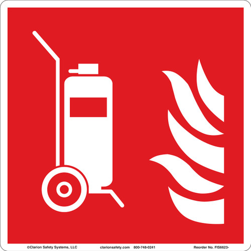 Wheeled Fire Extinguisher (FIS6623-)