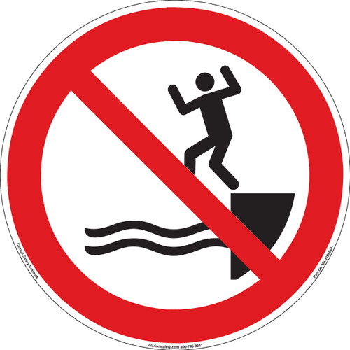 No Jumping Into Water (FIS6644-)
