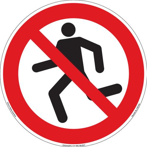 No Running (FIS7249-)