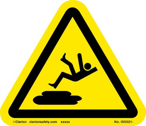 Slip Hazard Label (IS5021-)