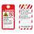 Danger/Asphyxiation Hazard Tag (ST1008a-1)