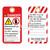Danger/Electrocution Hazard Tag (ST1017a-1)