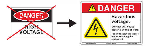 Electrical Enclosure Safety Signs | Clarion Safety Systems