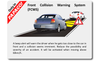 PAPAGO! P3 dash cam safety feature: Front Collision Warning System