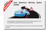 PAPAGO! P3 dash cam safety feature: Lane Departure Warning System