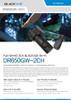 BlackVue DR650GW-2CH dash cam brochure