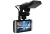 "KDLinks X1 Dash Cam showing GPS mount and 2.7"" screen"