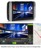 "KDLinks X1 Dash Cam showing 2.7"" screen and Playback Software"