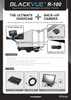 BlackVue R-100 Rearview Kit | Backup Camera Display System for DR650GW-2CH / 2CH Truck Dash Cams | Diagram