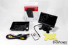 BlackVue R-100 Rearview Kit   Backup Camera Display System   R-100L Box Contents w/Adhesive and Screen