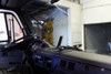 BlackVue R-100 Rearview Kit   Installed in Commercial Fleet Tow Truck with DR650GW-2CH-Truck Dash Cam   Passenger's Side View