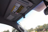 Slip-on visor mount for dashcams with threaded mounts | In-car example photo passenger's side view
