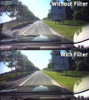 Polarizing Filter for BlackVue DR750LW-2CH dashcams | Comparison Photo With/Without Filter 6