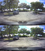 Polarizing Filter for BlackVue DR750LW-2CH dashcams | Comparison Photo With/Without Filter 1