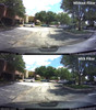 Polarizing Filter for BlackVue DR430/450/470/490/590/590W dashcams | Comparison Photo With/Without Filter 1