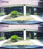 Polarizing Filter for BlackVue DR430/450/470/490/590/590W dashcams   Comparison Photo With/Without Filter 2