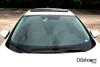 Circular Polarizing Filter for BlackVue DR430/450/470/490/590/590W Dash Cam Front Lens | In-Car Example Photo