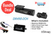 BlackVue DR490-2CH Dash Cam DIY Bundle | Kit Includes DR490-2CH Dash Cam, Power Magic Pro, Test Light, Fuse Taps