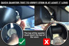 BlendMount BlackVue Dashcam Mirror Stem Mount | Mounting Fitment Test