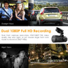 Vantrue N2 Pro Dual Lens Dual 1080p Dash Cam   for Front + Inside Video and Audio Recording