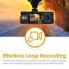 Vantrue N2 Pro Dual Lens Dual 1080p Dash Cam | Automatic Loop Recording by Default