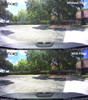 Dash Cam Polarizing Filter Comparison Photo | Reduce Reflections and Improve Colors Sunny