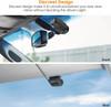 Vantrue S1 Dual Lens 1080p Dash Cam | Discreet Design View