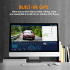 Vantrue S1 Dual Lens Dash Cam | Built-in GPS Displays Recorded Route on PC Playback Software